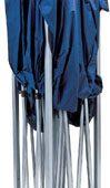Folding Gazebo, 3 x 3m, Blue