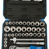 """1/2"""" Sq. Dr. Combined MM/AF Socket Set (41 Piece)"""