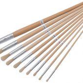 Artist Paint Brush Set (10 Piece)