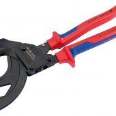 Knipex 95 32 315A 315mm Ratchet Action Cable Cutter For SWA Cable