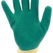 Green Heavy Duty Latex Coated Work Gloves - Extra Large