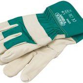 Premium Leather Gardening Gloves, Large