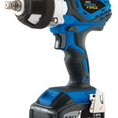 20V Cordless Impact Wrench with 2 LI-ION Batteries (3.0Ah)