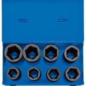 "3/4"" Sq. Dr. Metric Deep Impact Socket Set in Metal Case (8 Piece)"