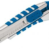 18mm Soft Grip Retractable Knife with Seven Segment Blade