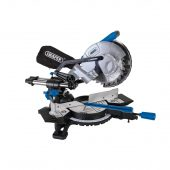 Sliding Compound Mitre Saw with Laser Cutting Guide, 210mm, 1500W