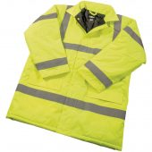 High Visibility Traffic Jacket - Size L