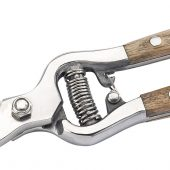 Bypass Secateurs with Ash Handles (210mm)