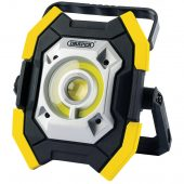 Twin COB LED Rechargeable Worklight, 5W & 10W, 1000 Lumens, Yellow