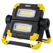 Twin COB LED Rechargeable Worklight, 10W, 850 Lumens