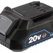 Draper Storm Force® 20V Li-ion Battery, 2.0Ah