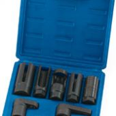 "Lambda/Oxygen Sensor Socket Set, 3/8"", 1/2"" Sq. Dr. (7 Piece)"
