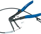 Flexible Ratcheting Hose Clamp Pliers, 230mm
