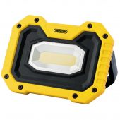 COB LED Rechargeable Worklight with Wireless Speaker, 5W, 500 Lumens, Yellow