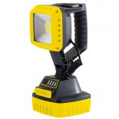 10W COB LED Rechargeable Work Light - 1,000 Lumens (Yellow, 4x 2.2 Ah Li-ion Batteries Supplied)