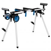 Mobile and Extendable Mitre Saw Stand