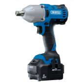"""D20 20V Brushless 1/2"""" Mid-Torque Impact Wrench (400Nm) with 2 x 3.0Ah Batteries And Charger"""