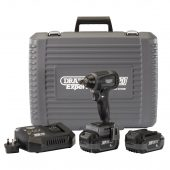 """XP20 20V Brushless 1/2"""" Impact Wrench (300Nm) with 2x 4Ah Batteries and Fast Charger"""