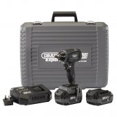 """XP20 20V Brushless 3/8"""" Impact Wrench (250Nm) with 2x 4Ah Batteries and Fast Charger"""