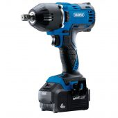 """D20 20V Brushless 1/2"""" Mid-Torque Impact Wrench (400Nm) with 2x 4Ah Batteries and Fast Charger"""
