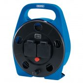 2-way 10m Cable Reel with LED Worklight