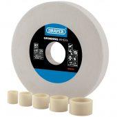 White Aluminium Oxide Bench Grinding Wheel 80G (150mm x 20mm)