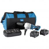 D20 20V Brushless Nibbler Kit (+2 x 3Ah Batteries, Twin Charger and Bag)