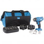 D20 20V Heat Gun Kit (+2 x 3Ah Batteries, Twin Charger and Bag)
