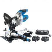 D20 20V Brushless Sliding Compound Mitre Saw (185mm)